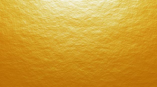 ゴールドセメントテクスチャ背景3 dレンダリング