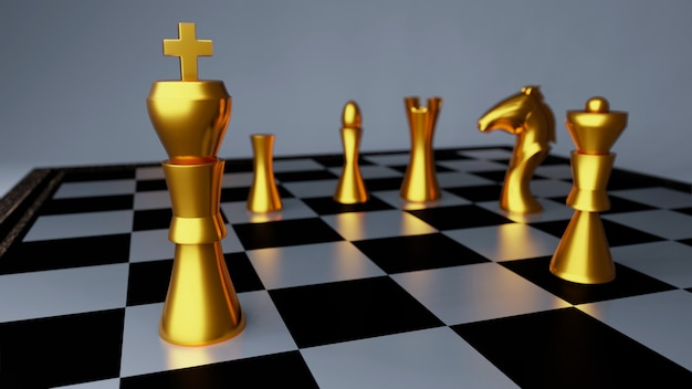 Золотая шахматная битва