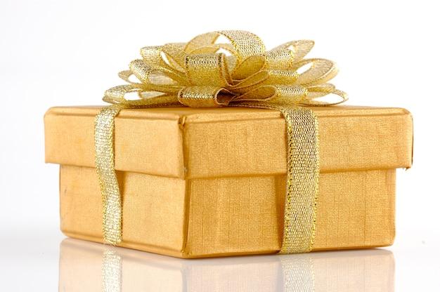 금 chrismas 선물 상자