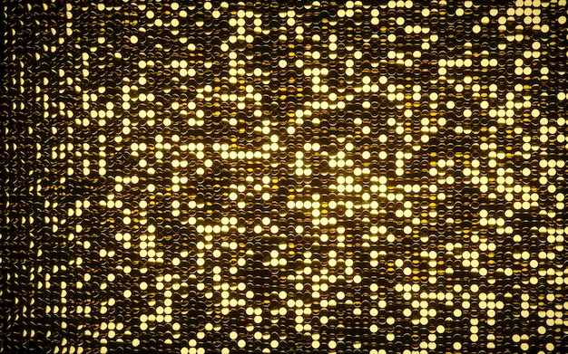 Gold coins shiny mosaic background.