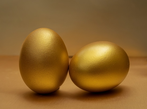 Gold egg at the golden