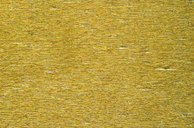 Gold fluted paper