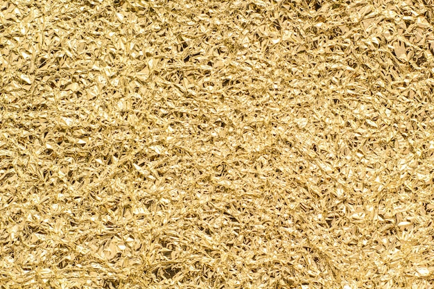 Gold foil texture for background