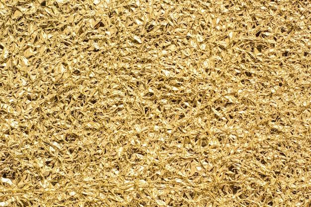 Текстура золотой фольги для фона