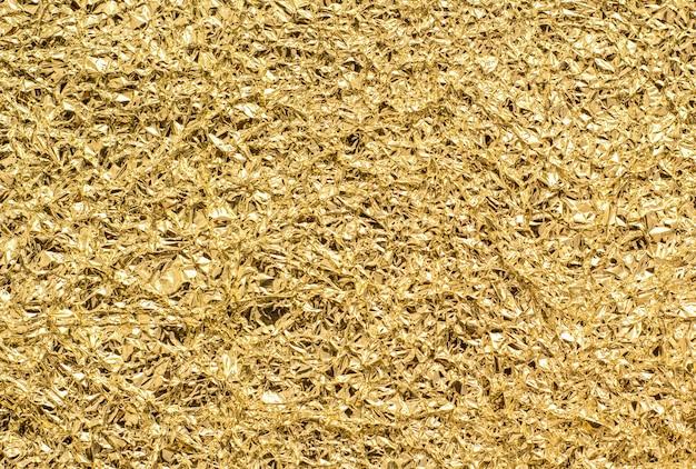Текстура золотой фольги