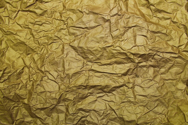 Gold foil yellow paper