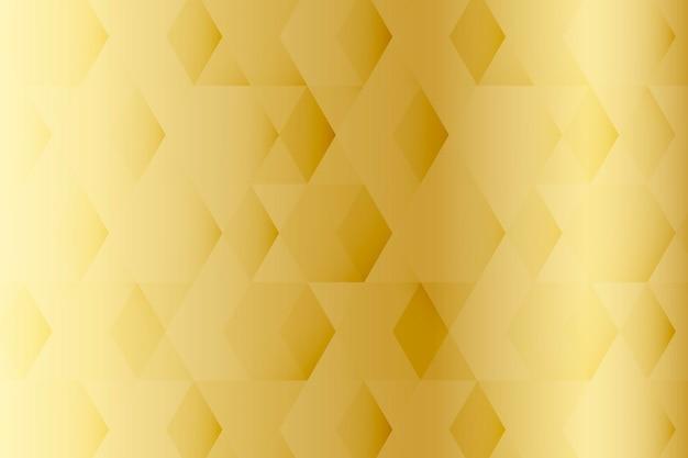 ゴールドの幾何学模様の背景