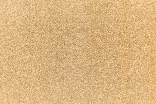 Gold glitter background with fabric texture
