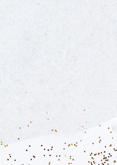 抽象的な白い背景にゴールドのキラキラ