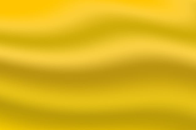 Gold gradient color soft texture rippled as abstract smooth wave decorative background