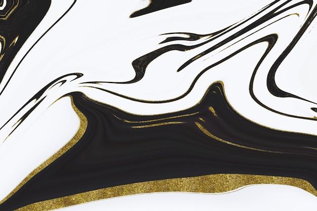金大理石の抽象的な背景