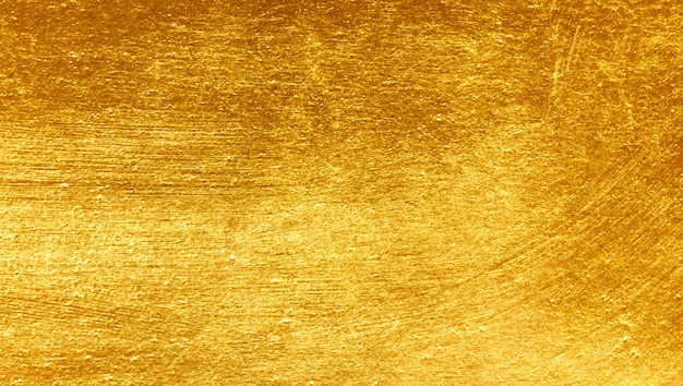 Gold metal brushed background