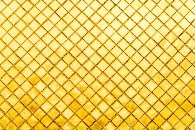 Gold mosaic tile