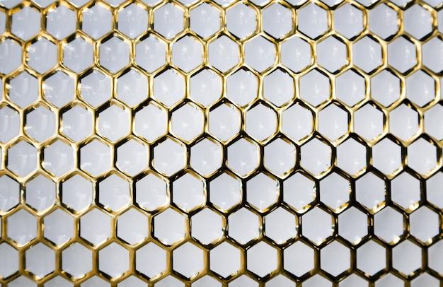 Золотой узор на белом мраморе для роскошного украшения