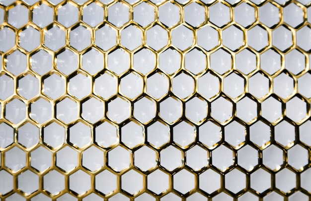 Gold pattern on white marble for luxury decoration