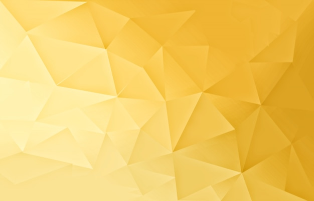 Gold polygonal pattern  light background