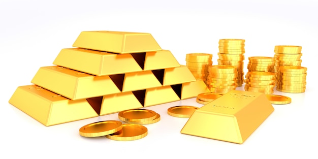 Gold price for website banner.