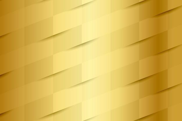 ゴールドのシームレスな織りパターンの背景