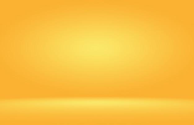 変化する色相とゴールドの光沢のある黄色の背景