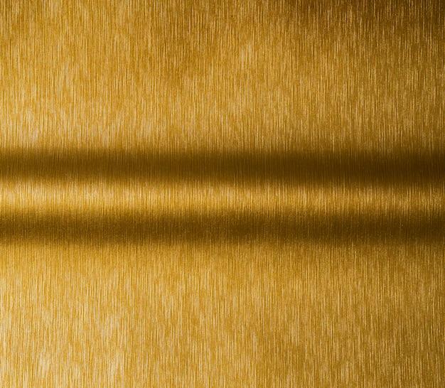 ゴールドのテクスチャ背景と平行シャドウライン