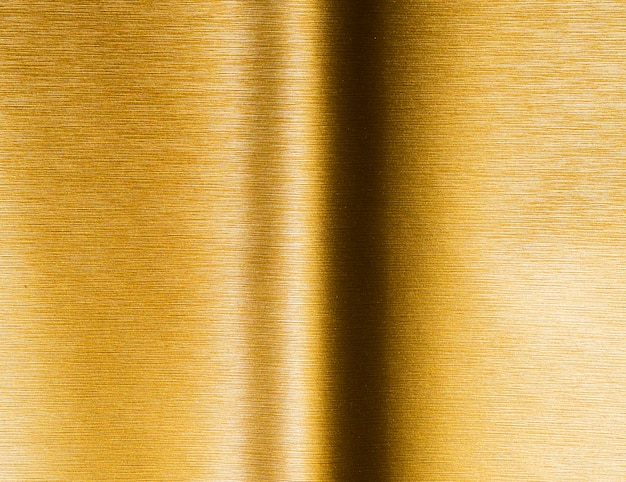 Gold texture background and line with shadow
