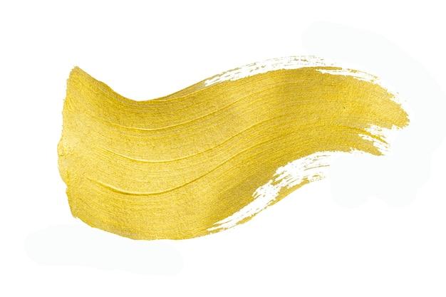ゴールドテクスチャ。手描きのブラシストローク。