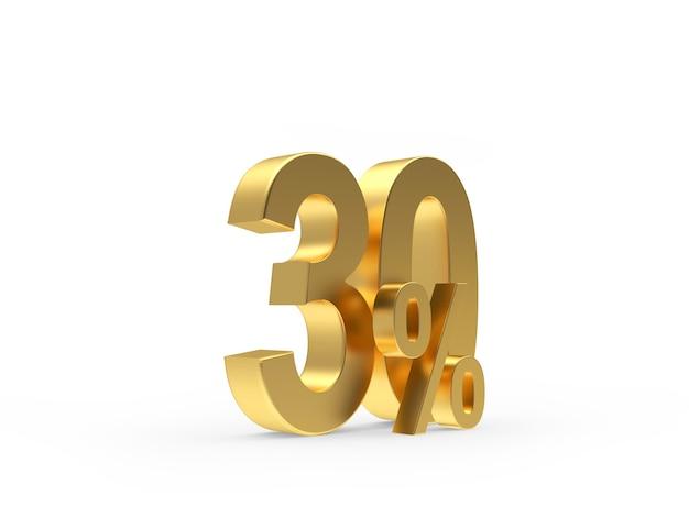 Золото тридцать процентов Premium Фотографии