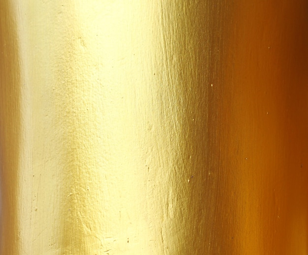 Gold wall abstract background and texture .