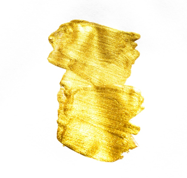 Gold watercolor texture