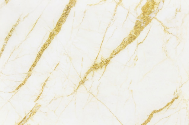 Gold white marble texture background, natural tile stone floor.