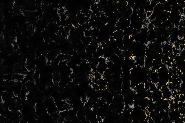 Gold white mineral granite and black marble luxury interior texture