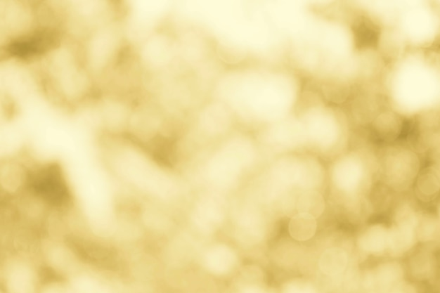 Gold or yellow bokeh soft texture for background cotton