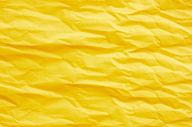 Золотисто-желтая мятая бумага