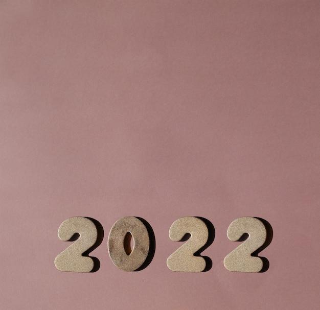Golden 2022 new year