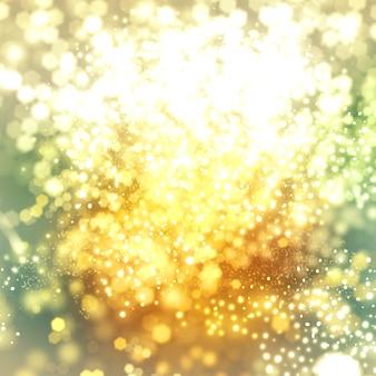 Golden abstract texture