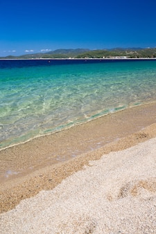 Золотой пляж в греции