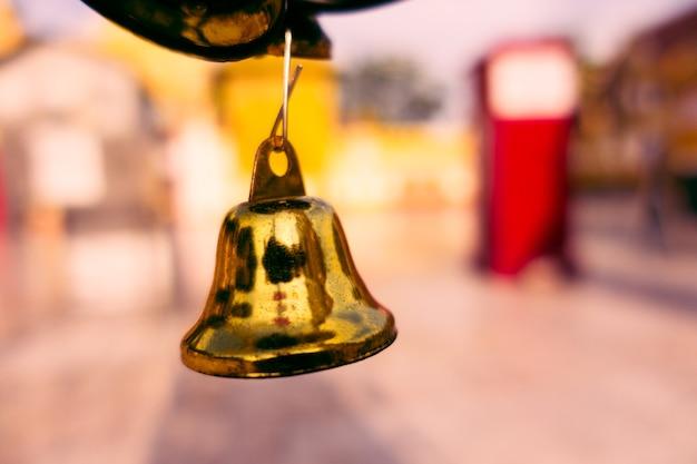 Golden bell in the church