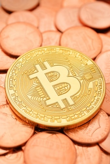 ゴールデンビットコインとセント