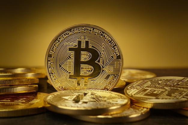 ゴールデンビットコインコイン暗号通貨