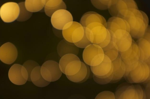 Golden bokeh abstract light, orange background