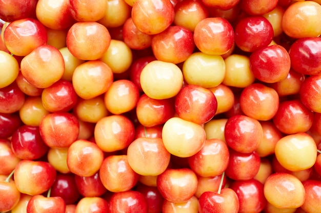Golden cherry background