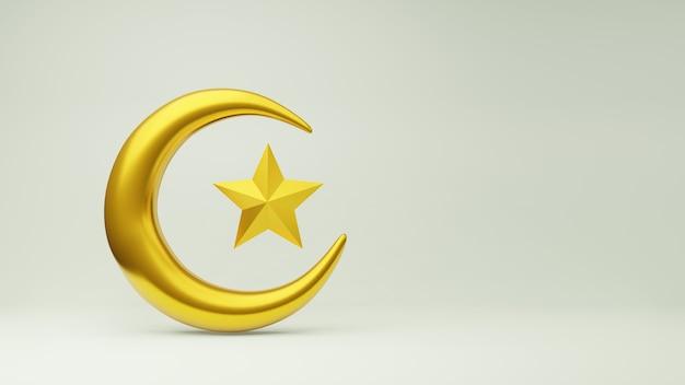 黄金の三日月と星