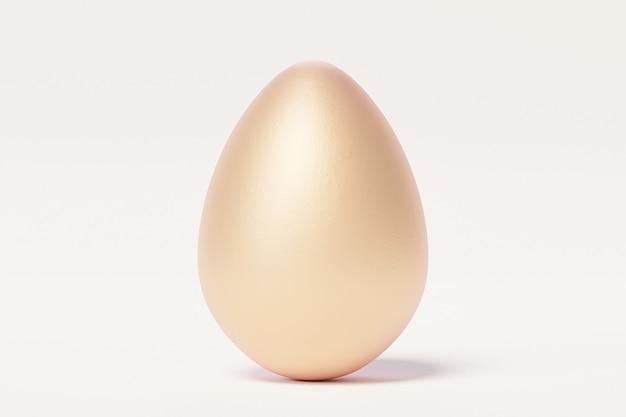 Золотое пасхальное яйцо крупным планом