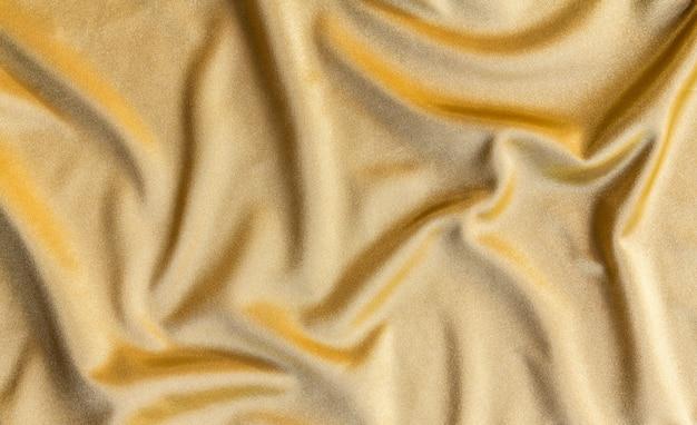 Golden fabric background