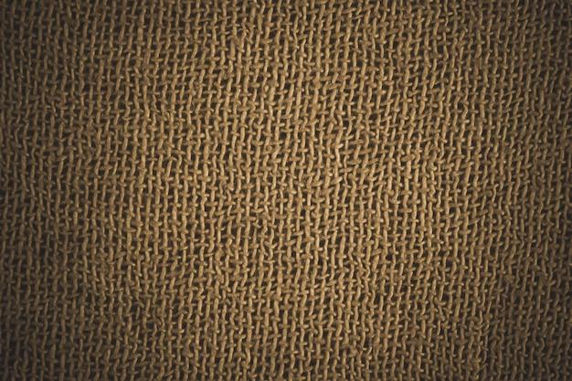 Golden fabric fiber detail.