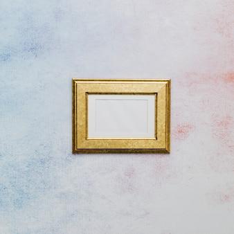 Golden fancy frame
