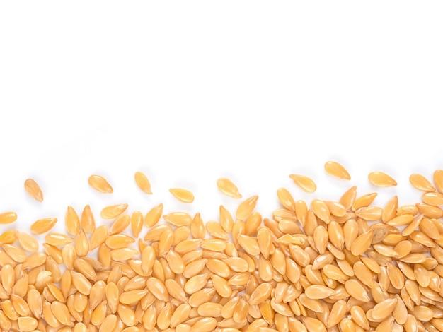 Золотое семя льна