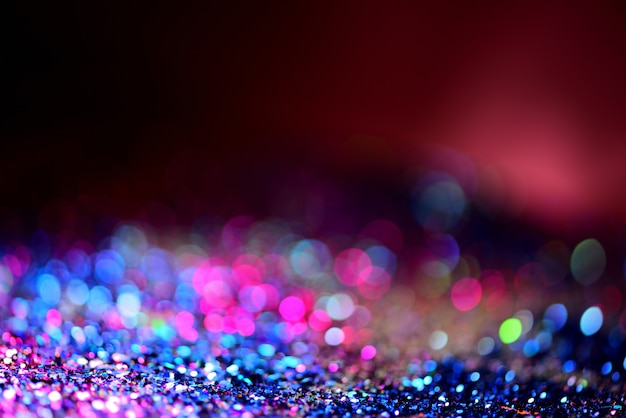 Golden glitter texture colorfull blurred abstract background for birthday new year eve or christmas