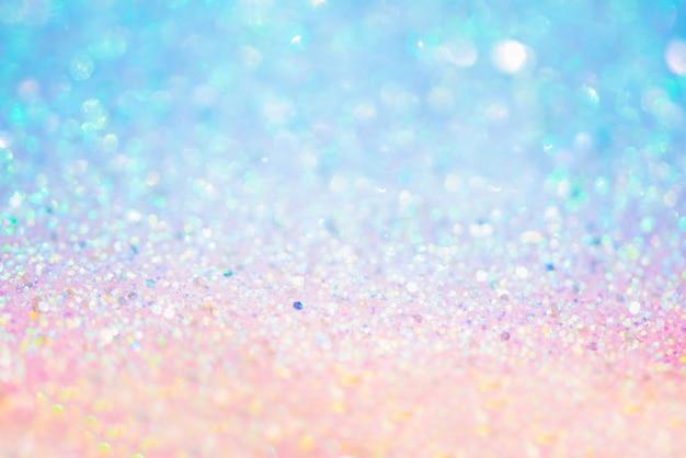 생일 반짝이 이브 또는 크리스마스 황금 반짝이 질감 colorfull 흐리게 추상적 인 배경