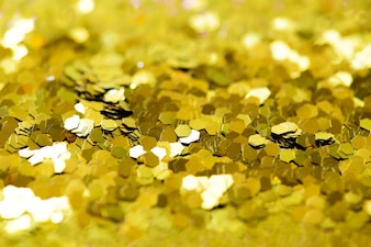 Golden glitter textured background abstract
